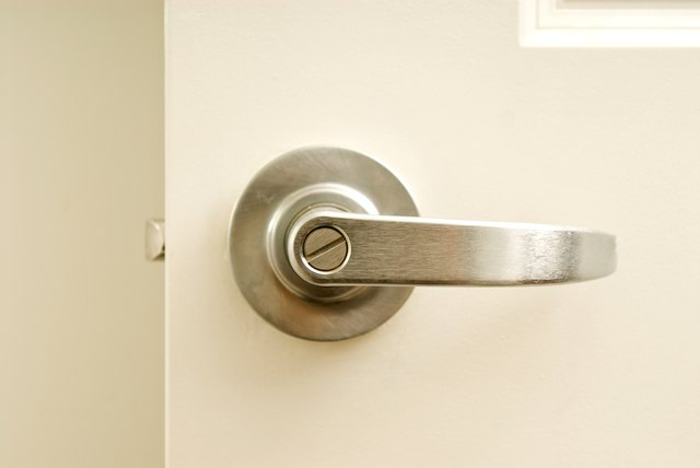 Stainless steel doorknob