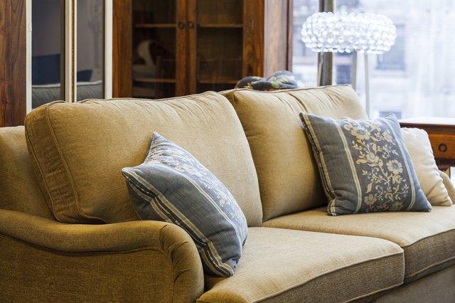 Light brown sofa