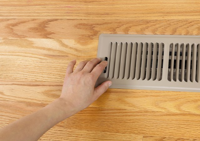 Opening up Floor Vent Heater