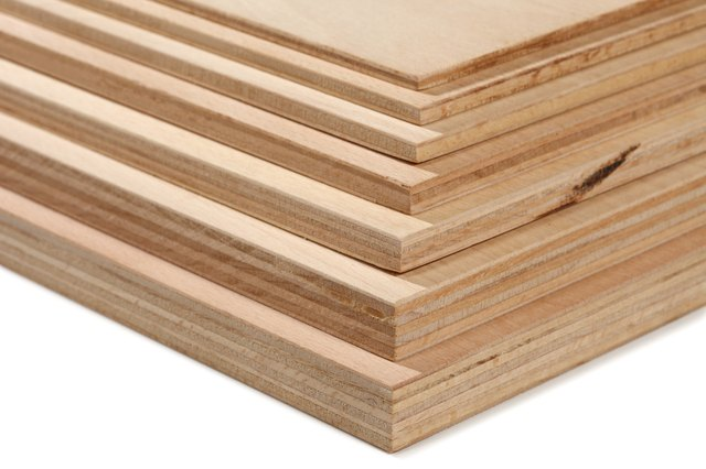 Plywood stack