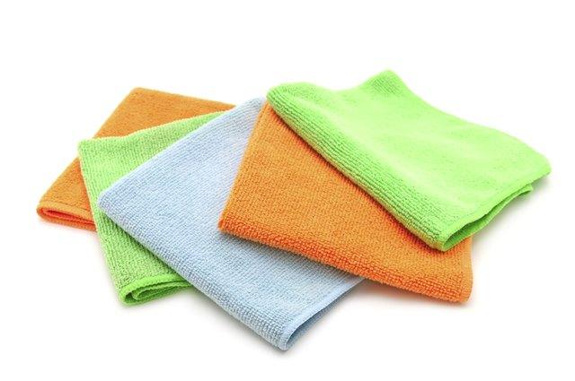 Colorful cloths microfiber