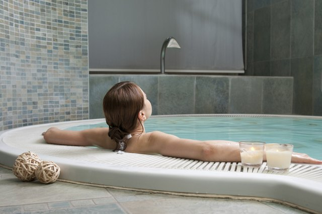 Relaxation at spa