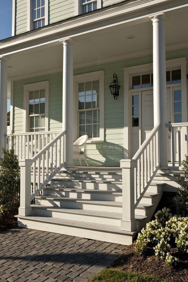 How To Install A Stair Newel To A Concrete Floor Hunker