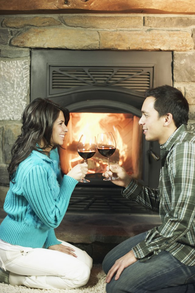 How to Remove Burnt Plastic From Fireplace Glass   Hunker