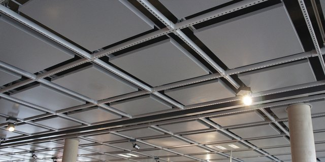 Ideas For Ugly Dropped Ceiling Tiles Hunker