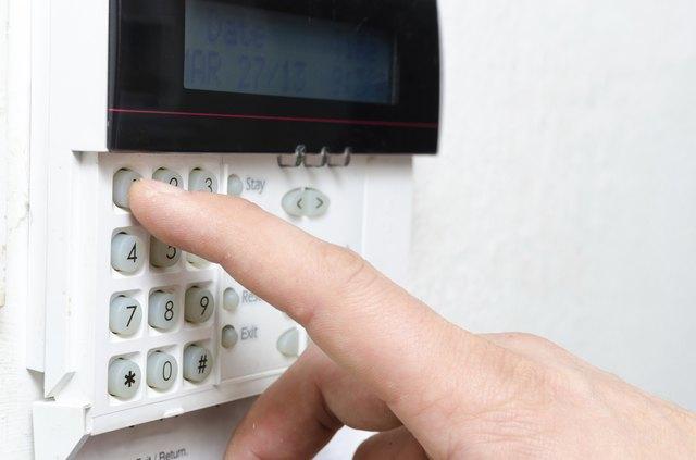 Typing alarm code