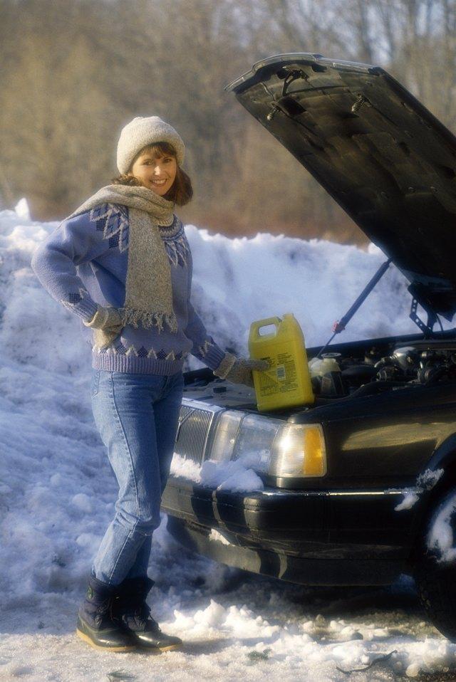 Does Antifreeze Stain Driveways Hunker