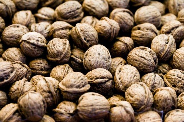 Walnuts with shells