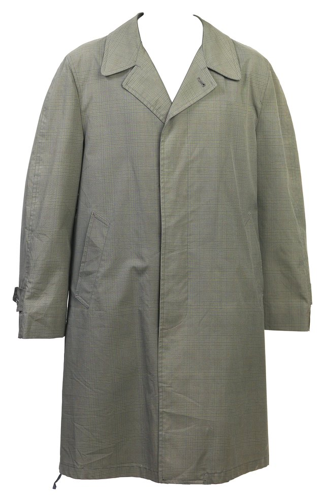 How to Get a Stain Out of a Trench Coat | Hunker