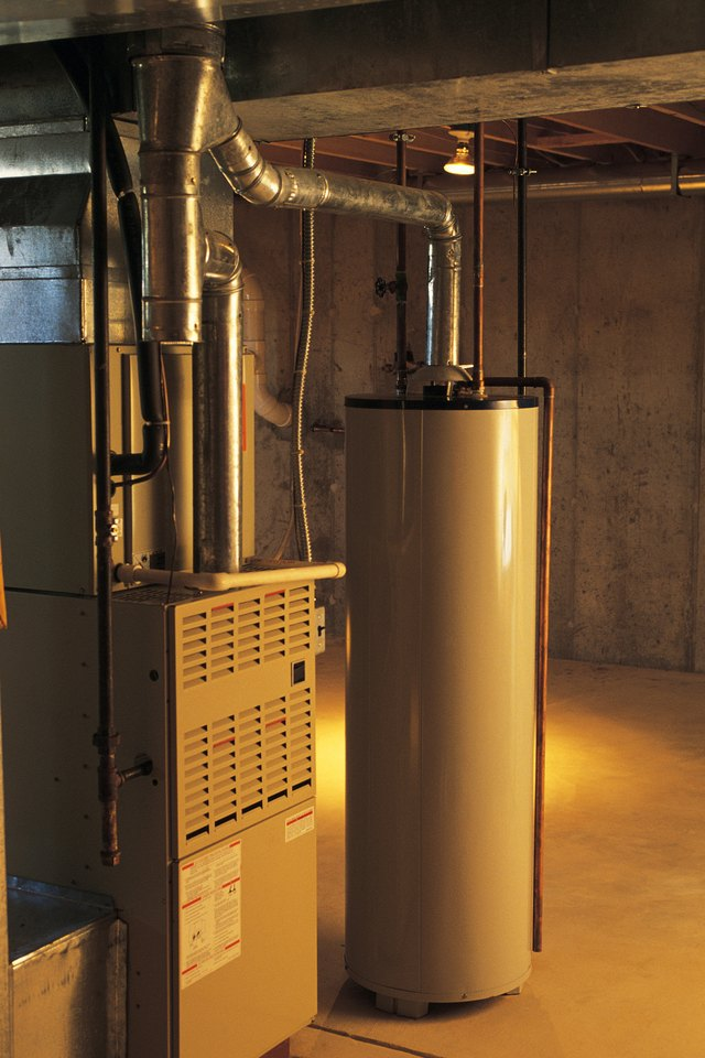 Home hot water heater and gas boiler