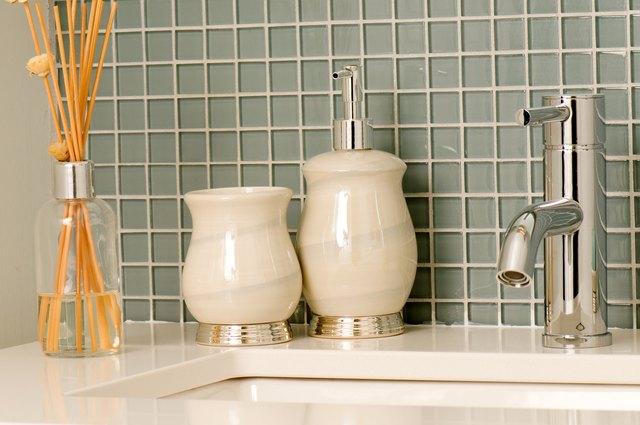 Bathroom faucet and countertop