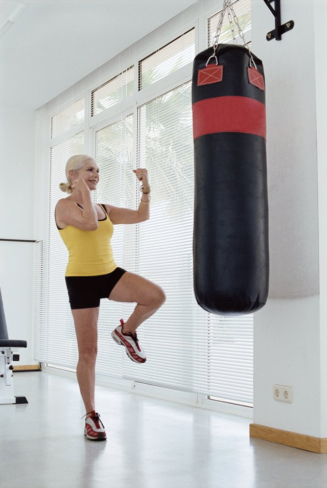 Punching Bags Are Useful For Women And Men Both Young Old