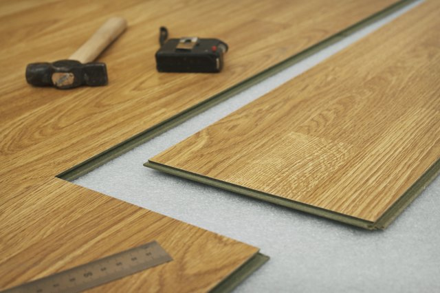 How To Cut Laminate Flooring Hunker