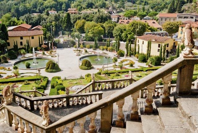 Villa Garzoni, Tuscany, Italy