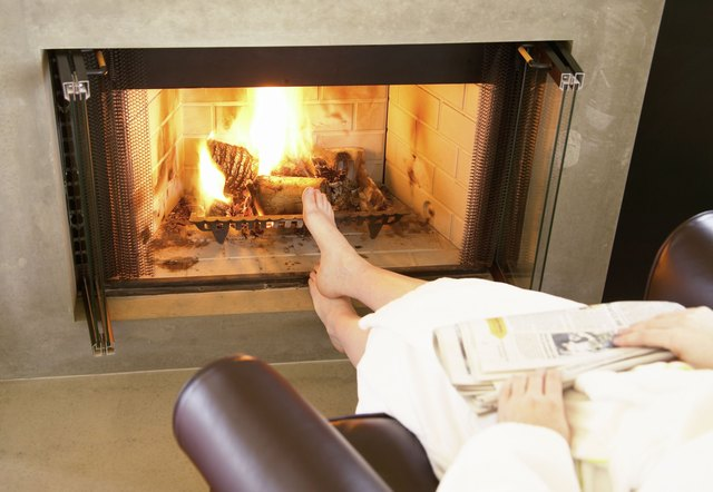 Problems With Vent Free Gas Log Fireplaces Hunker