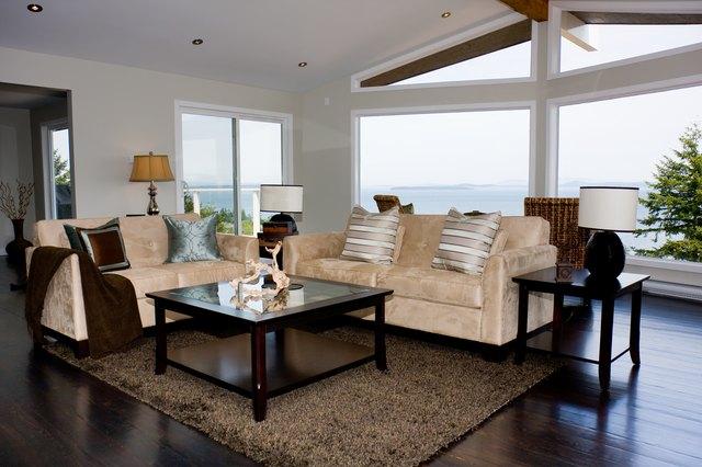 Standard Living Room Sofa And Love Seat Sizes Hunker