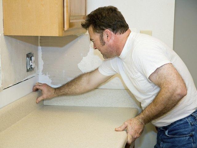 Installing Laminate Counter Top
