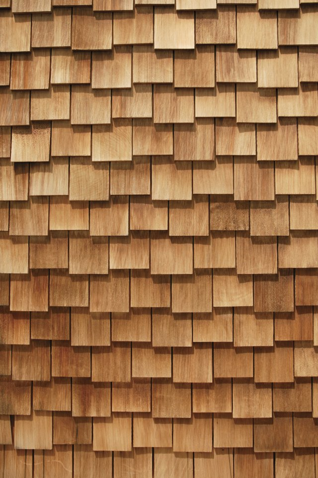 How To Install A Cedar Shingle Roof On A Garden Shed Hunker