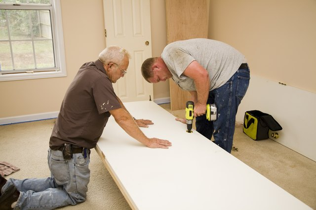 Carpenters working