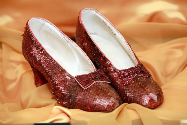 """The Wizard of Oz"" Ruby Red Slippers Viewing"