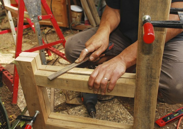 Filing a Wooden Chair Frame