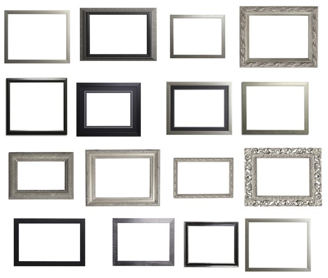 How to Paint Metal Picture Frames | Hunker