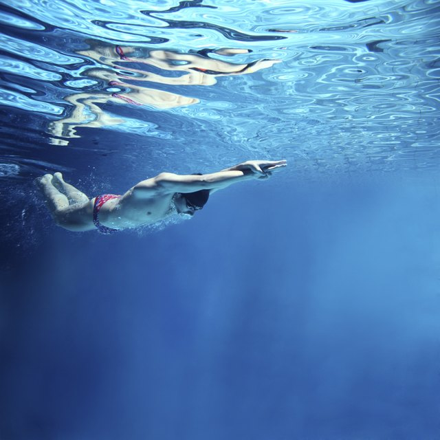 Professional Swimmer Underwater Swimming Erfly