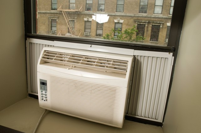 How To Make An Indoor Window Air Conditioner Cover Hunker