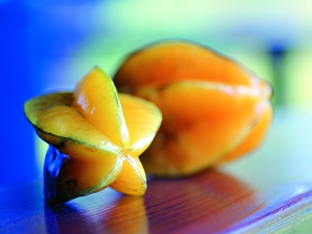 Photo, star fruit, Color, High res