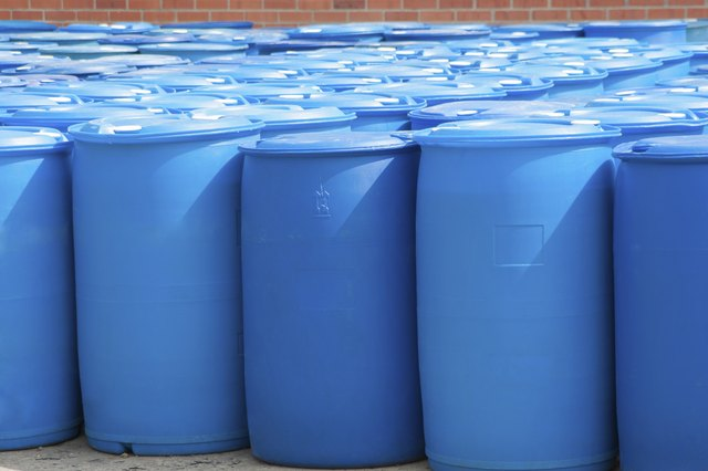 Ways To Clean 55 Gallon Plastic Barrels Hunker