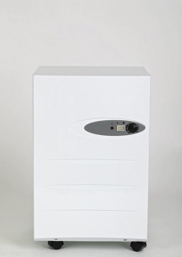 Portable dehumidifier, front view