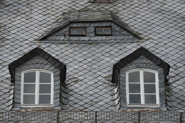 slated roof
