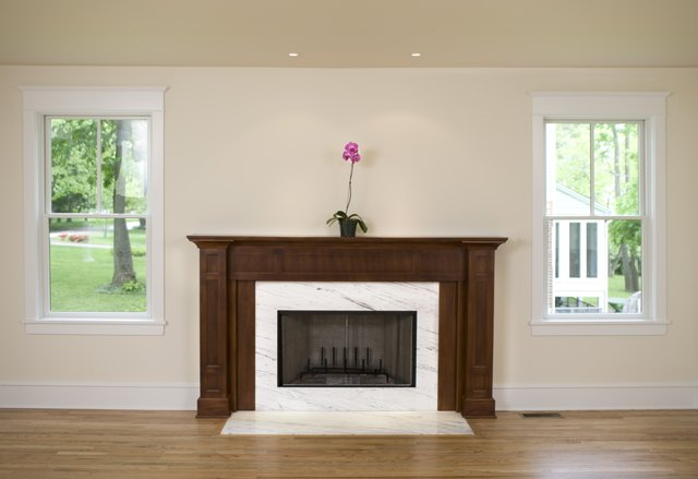 What Type Of Tile Should Go In Front Of A Fireplace Hunker