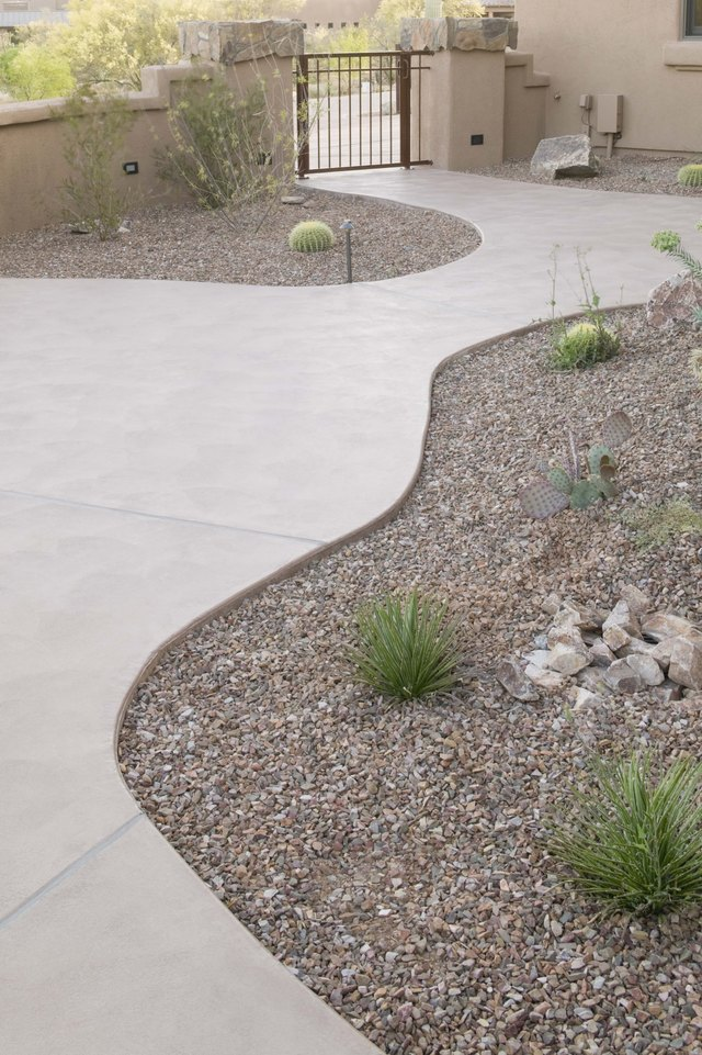 Path at house exterior