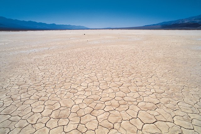 Panamint dry lake near Death Valley , New Mexico