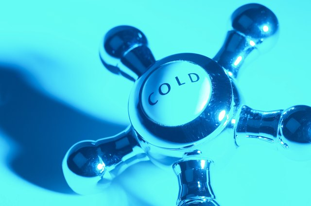 Cold water knob