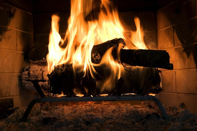 What Is Safe to Use to Seal a Small Space Around a Fireplace Insert? | Hunker