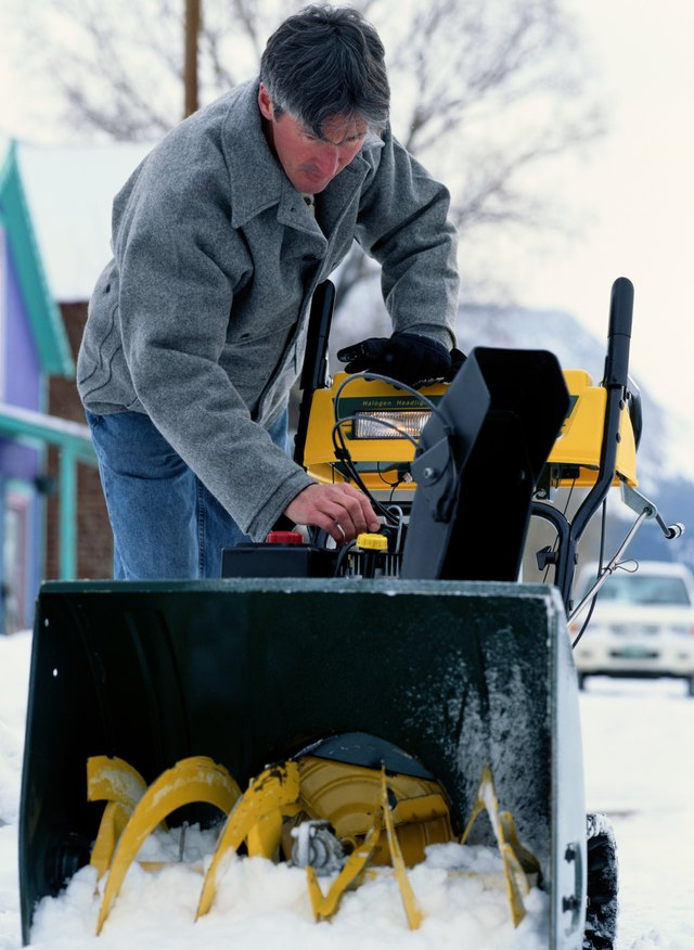 How To Fix A Seized Snowblower Engine Hunker