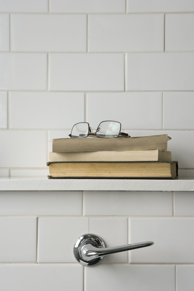 How To Install Shelves On A Brick Or Concrete Wall Hunker