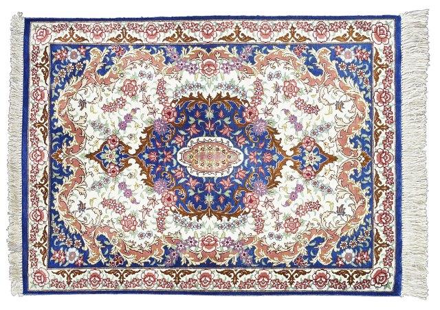 Liquid latex rug backing that interfere