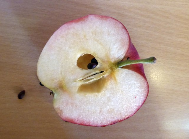 Red apple as is