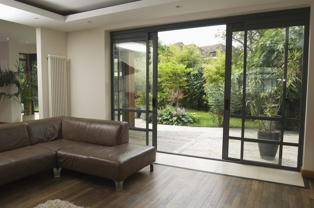 How To Tint A Sliding Glass Door Hunker