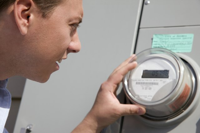 How to Read an Itron Type C1SR Electric Meter | Hunker
