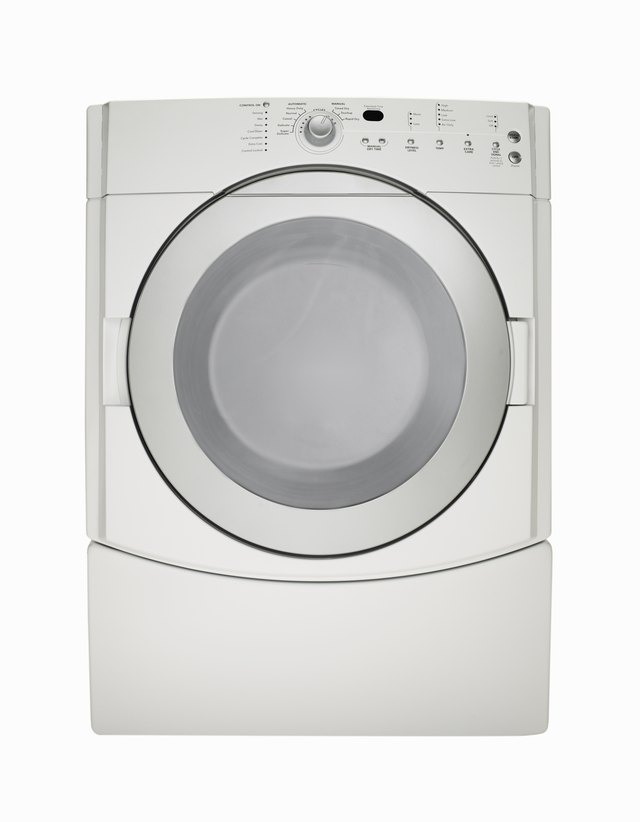 White clothes dryer