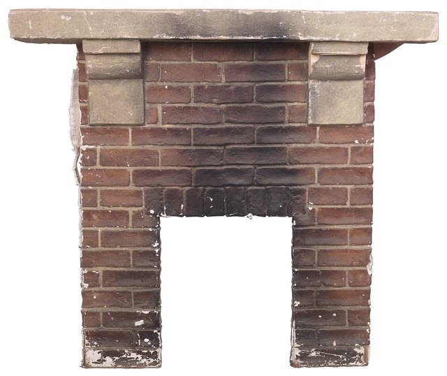 Semi Gloss Eggshell For Brick Fireplace Hunker