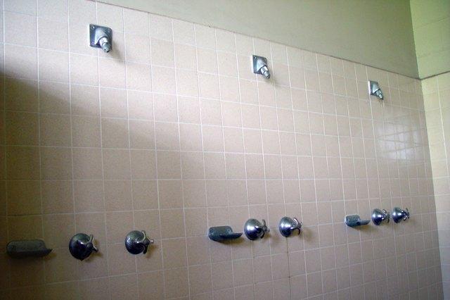 Locker room Showers