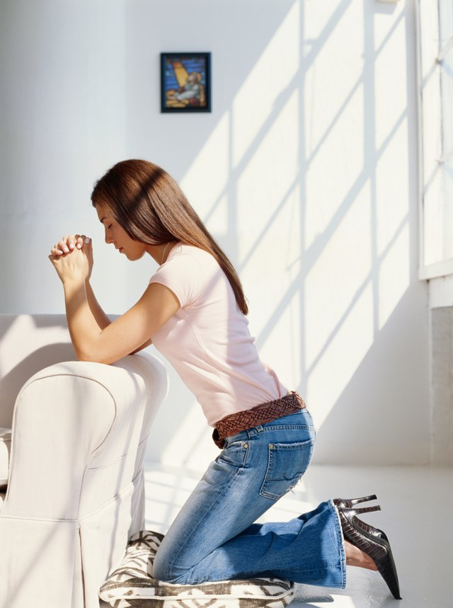 How to create a meditation prayer room or quiet space in your home hunker - Creating a meditation space ...
