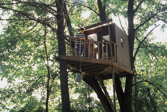 A Few Options Are Available Which Allow You To Fasten Tree House Without Causing Any Damage With Nails