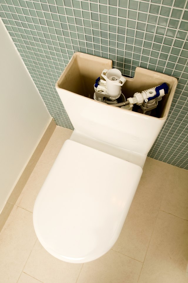 How To Get Rid Of Mold In A Toilet Tank With Vinegar Hunker