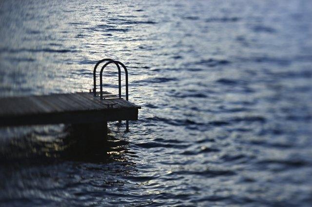 Dock in water